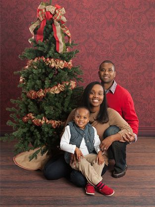 Family Holiday Portrait