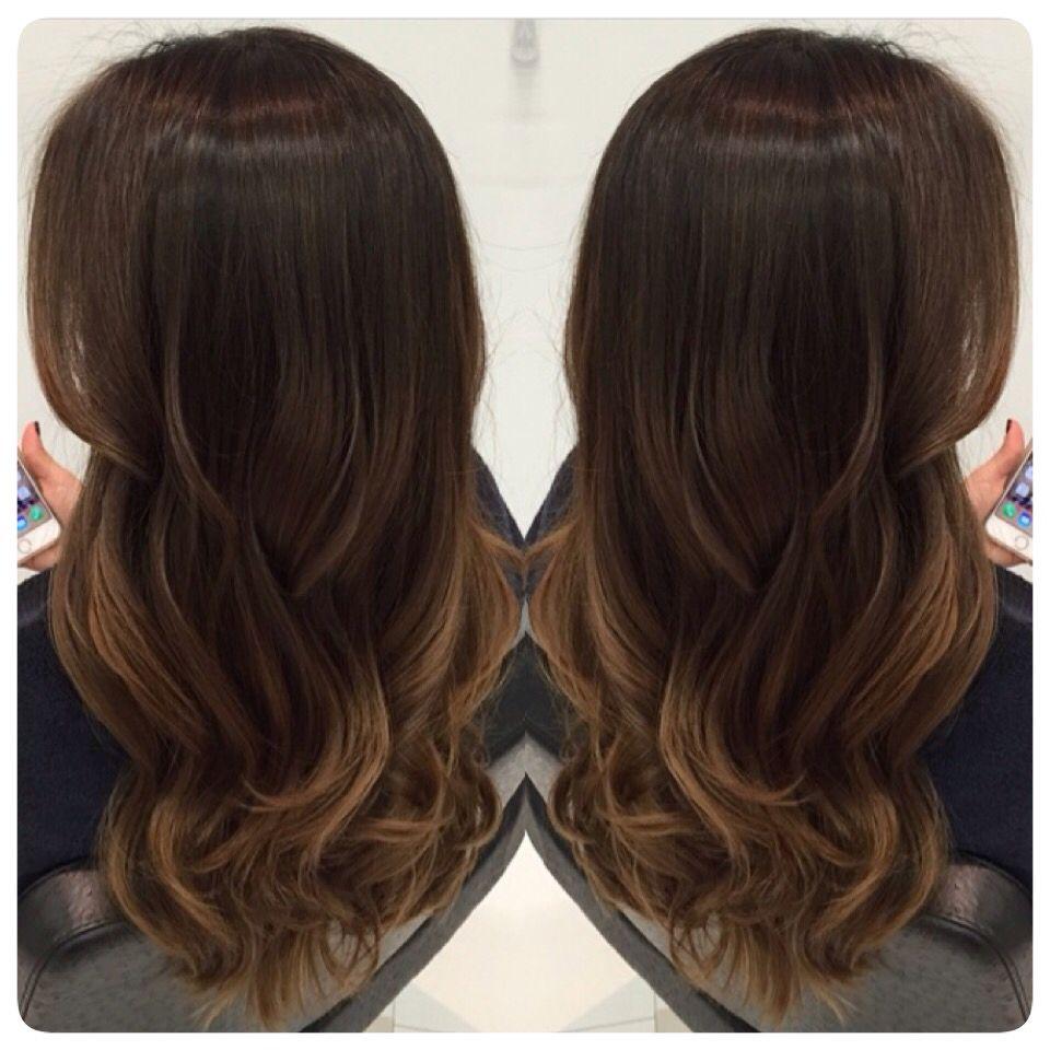 Ombre hair. Iluminado para morenas