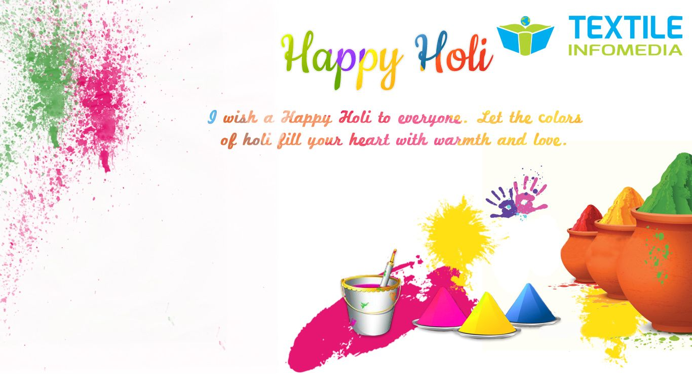 This Holi I wish you and your family and play it safe and
