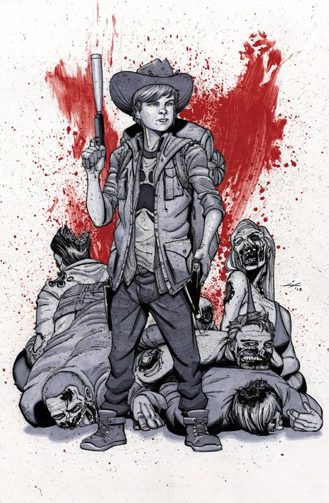 Carl Grimes The Walking Dead Ian Navarro Carl The Walking