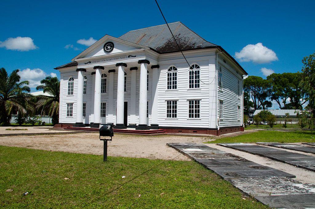 Synagoge, Paramaribo Suriname - Synagoge Neve Shalom - Wikipedia – Foto GJ Bulte