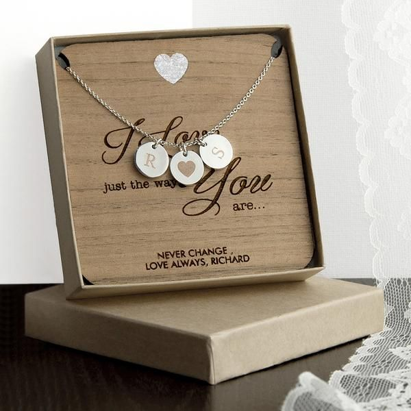 Romantic Personalised 'I Love You' Necklace - Silver, Rose Gold or Gold