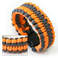 Paracord products are designed with the mindset of being prepared at all times.    WOW!