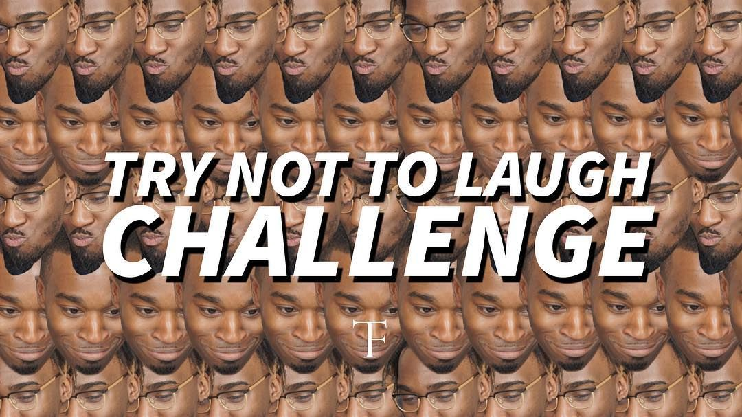 NEW VIDEO: Try Not To Laugh Challenge with my bro!  Something different   http://youtube.com/thetailorfitted (Clickable link in Instagram bio)