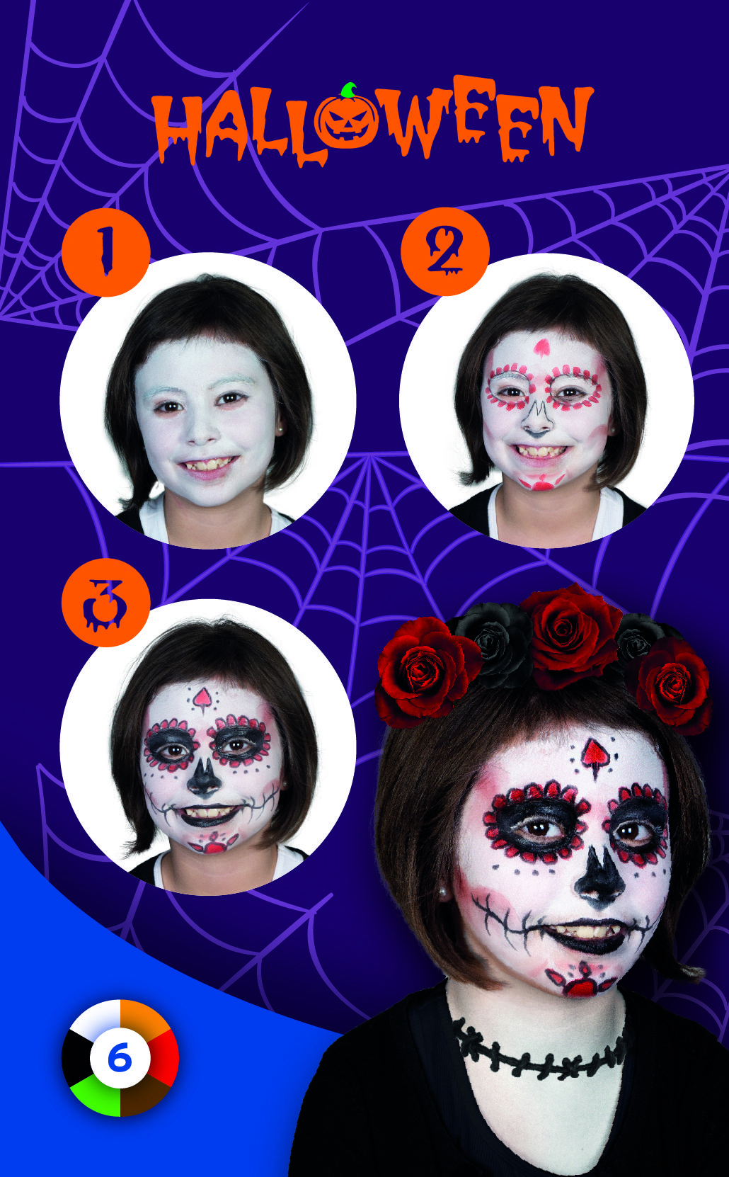 Tutorial Halloween 2019 Viso Cosmetici Bambini