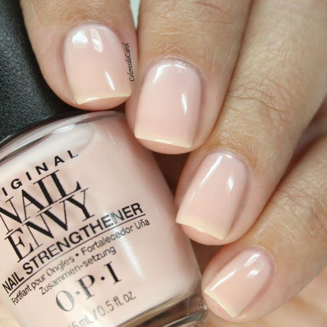 OPI Nail Envy, Strength + Color - Bubble Bath   Nails   Pinterest ...