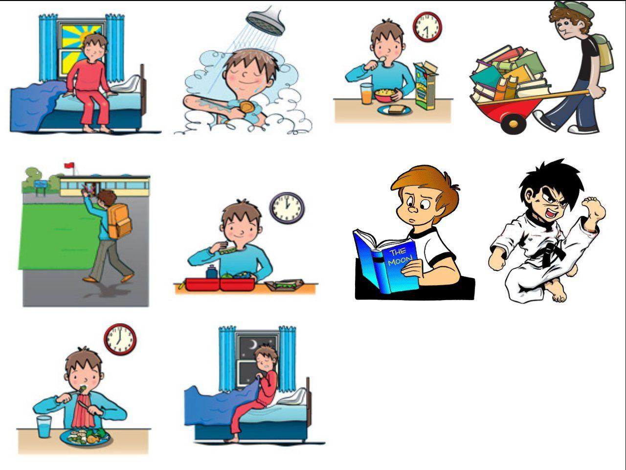 Children Rutine Exemple De Rutina Diaria Per A Nens