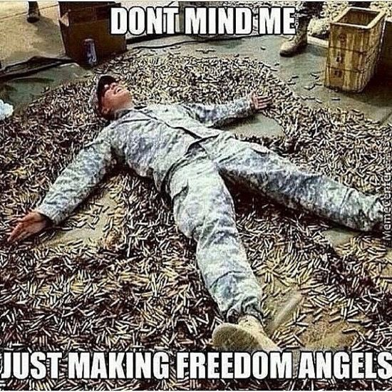 7899b056160bef809b1ff559f4e1c71f we need angel's , good idea for an army of one american patriot