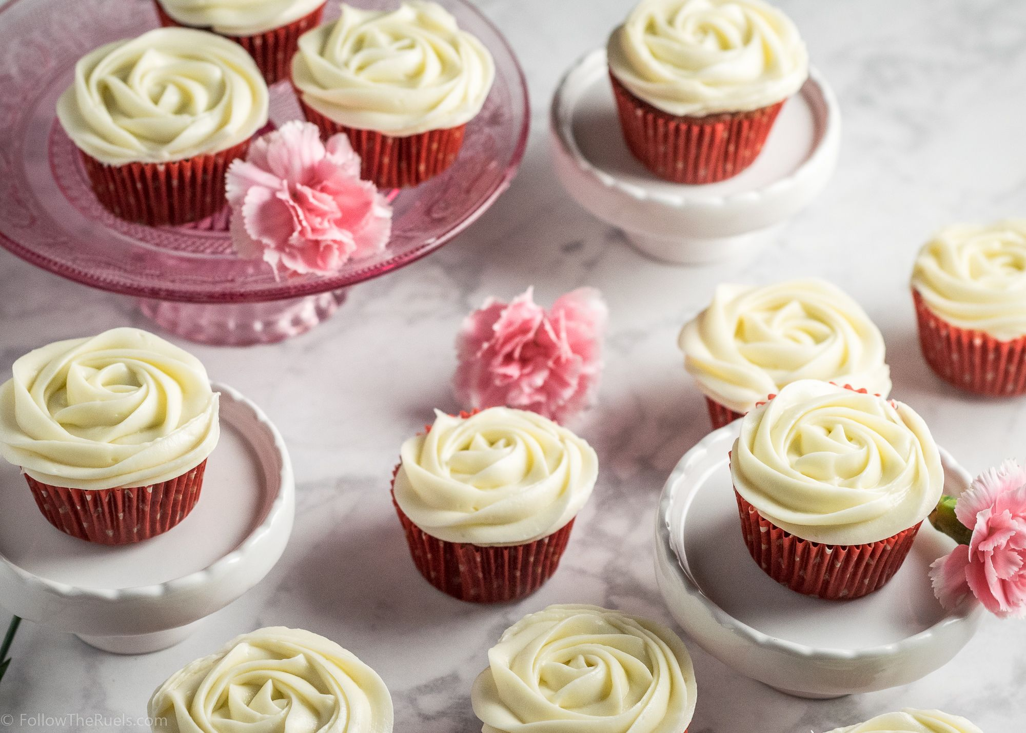 Classic Red Velvet Cupcakes made without Food Coloring | Recipe ...