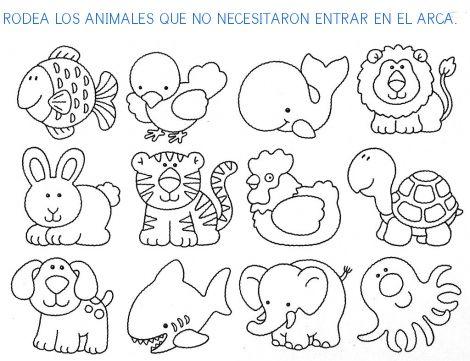 Arca de noe actividades para niños - Imagui | INFANTIL | Pinterest ...