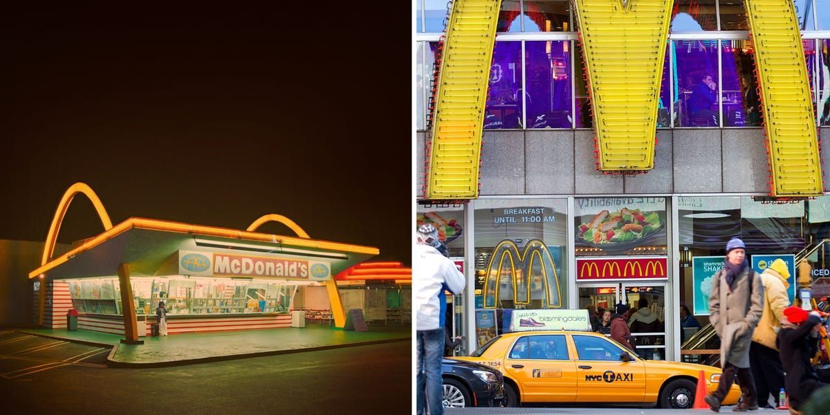 THEN AND NOW Photos show how McDonald's has changed