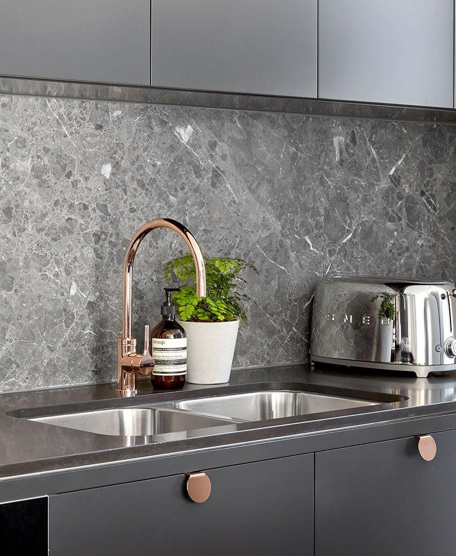 Innenarchitektur für küchenschrank urban luxury  cuisine  pinterest  küche graue küchen und