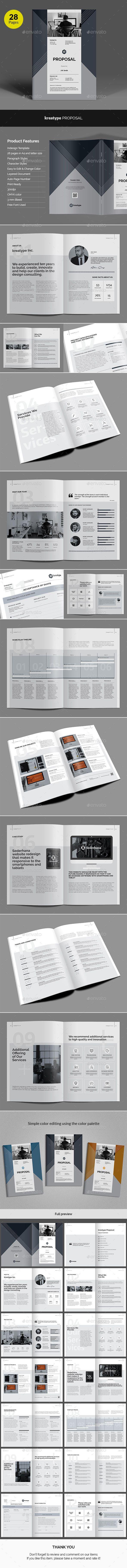 Kreatype Business Proposal v02 | Business proposal template ...