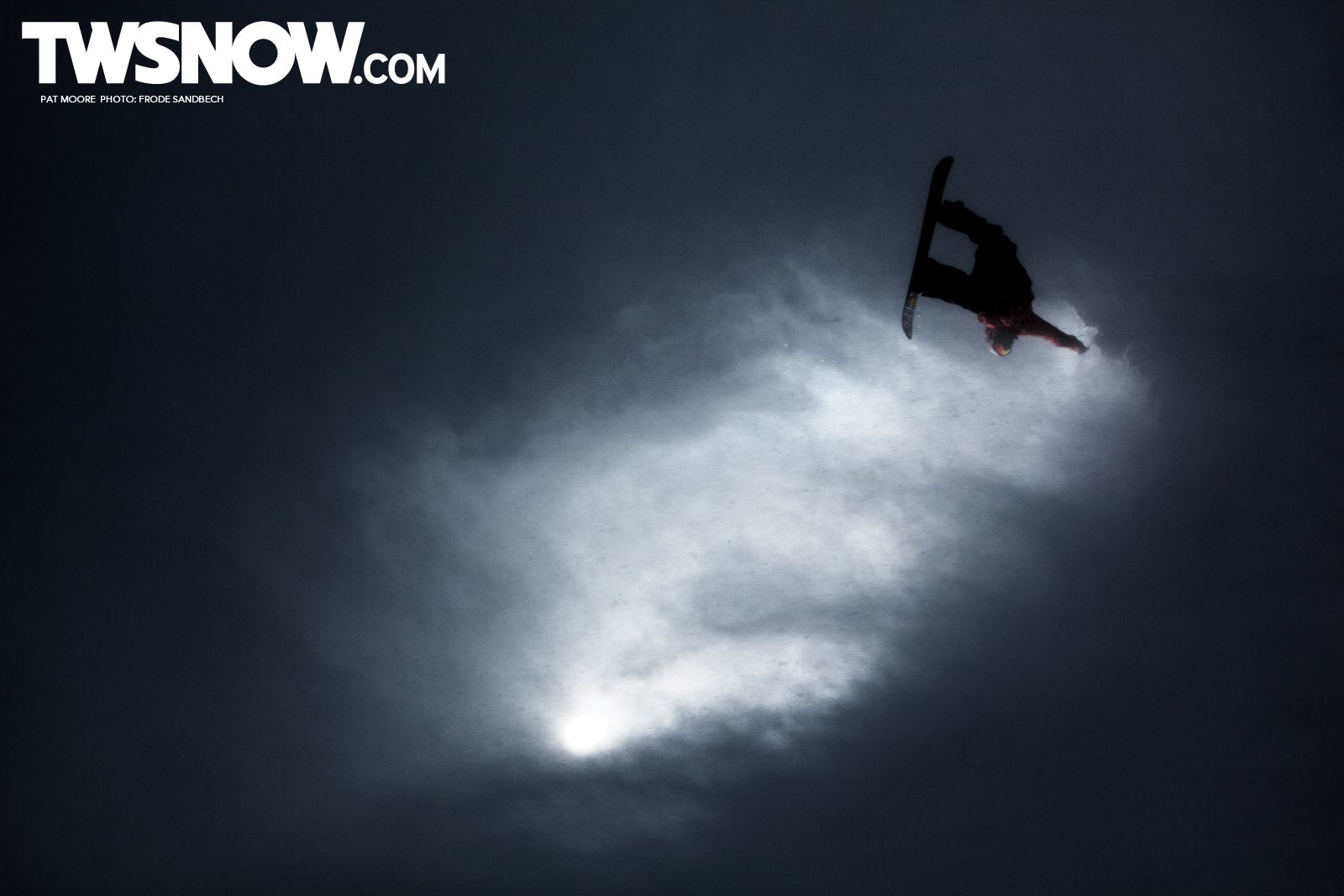 TW Snow - Pat Moore Photo: Frode Sandbech