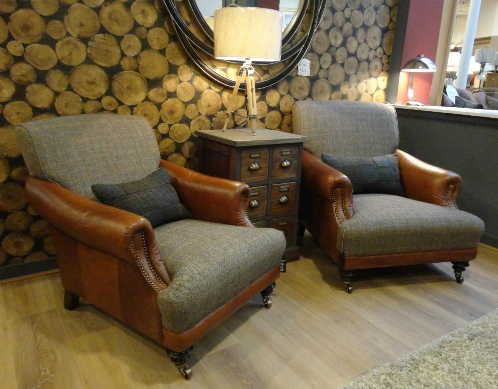 Tetrad Harris Tweed Taransay Sofa Collection   Bracken From George  Tannahill U0026 Sons