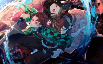 Demon Slayer Kimetsu no Yaiba HD Wallpaper Background