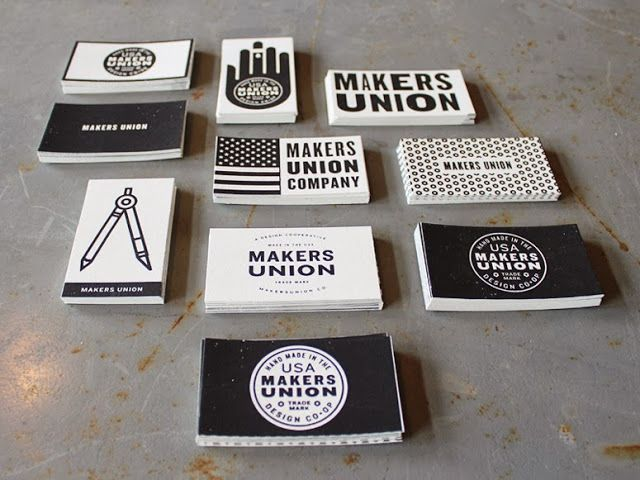 Project love makers union business cards i 3 design pinterest makers union business cards screen printed on french speckletone madeiro beach 140 fitting choice as french is a 140 year old american mill making quality colourmoves