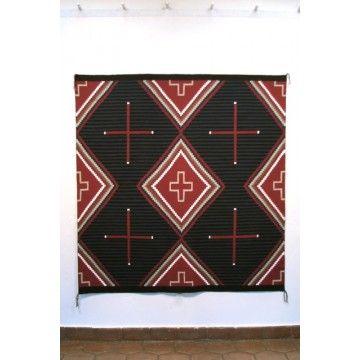 Elvie Vanwinkle Navajo Rug Moki Serape Style With