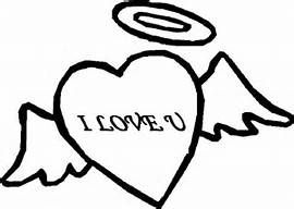 Heart I Love You Coloring Pages Angel Heart I Love You Coloring Pages Super Coloring Pages Coloring Sheets My Love