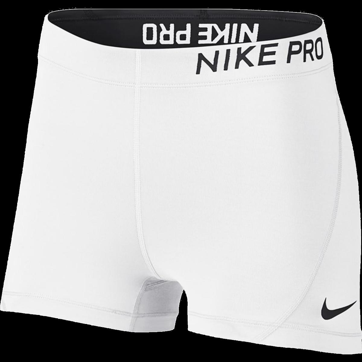 Nike Women S Pro 3 Short White M Nike Women Outfits Nike Spandex Shorts Nike Outfits