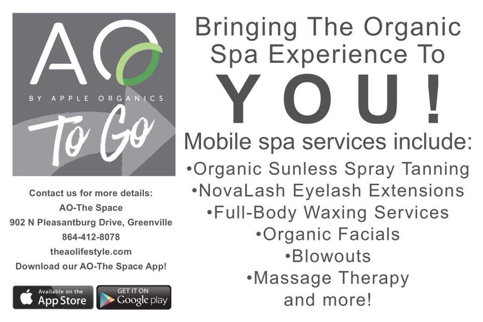 Introducing AOTo Go, where we bring the organic spa