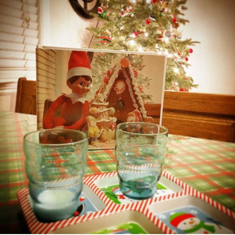 book of memories set out on christmas eve left as a farewell from the elf on the shelf printed at walgreens - Is Walgreens Open On Christmas Eve