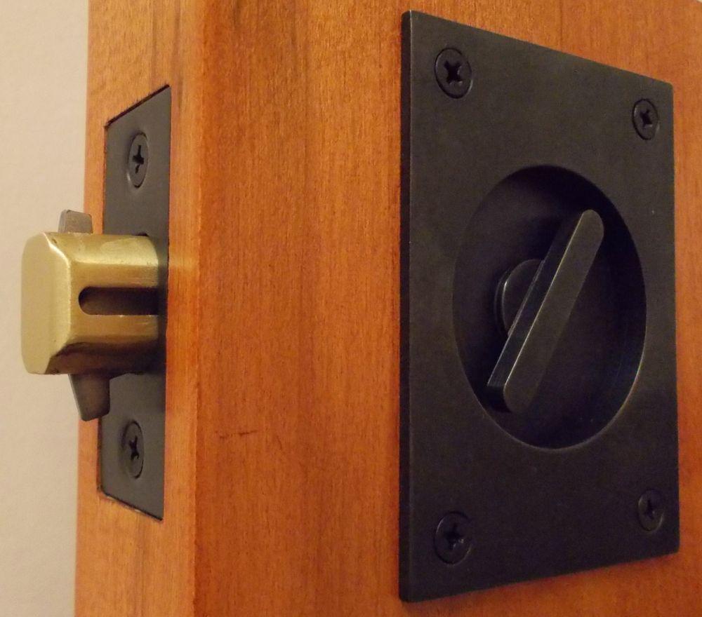 Accurate rectangular pocket door hardware tubular wm a