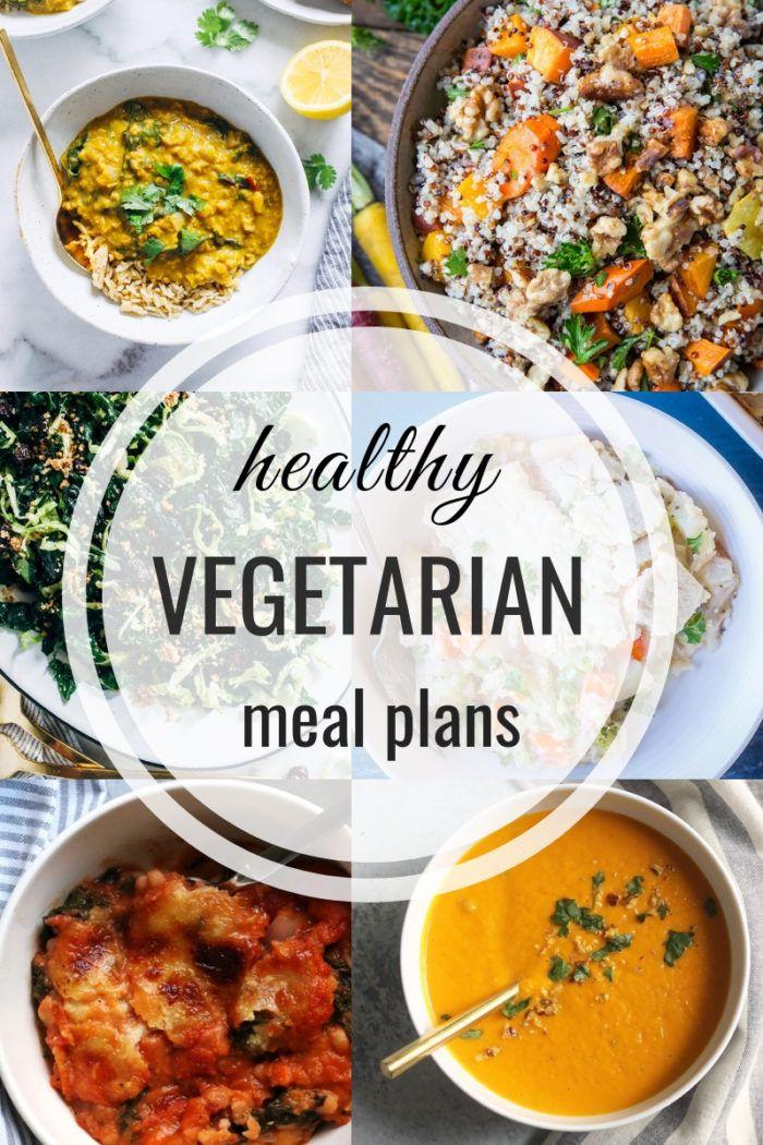 Healthy Vegetarian Meal Plan 11042018 Menu Planning