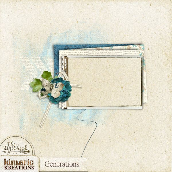 kimeric kreations: A Generations frame cluster to share tonight ...