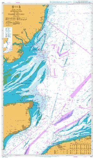Map Of England East Coast.British Admiralty Nautical Chart 1610 England East Coast