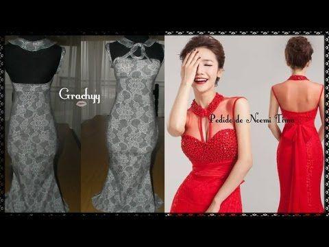 cea7018ec Como hacer el trazo del vestido sirena