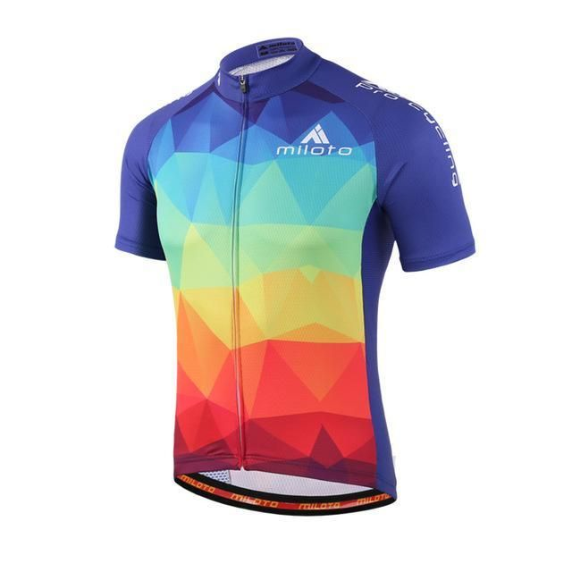 0ebb2d226 Usa Style Mens Racing Cycling Jersey Tops Ropa Ciclismo Short Sleeve Mtb  Bicycle Cycling Clothing