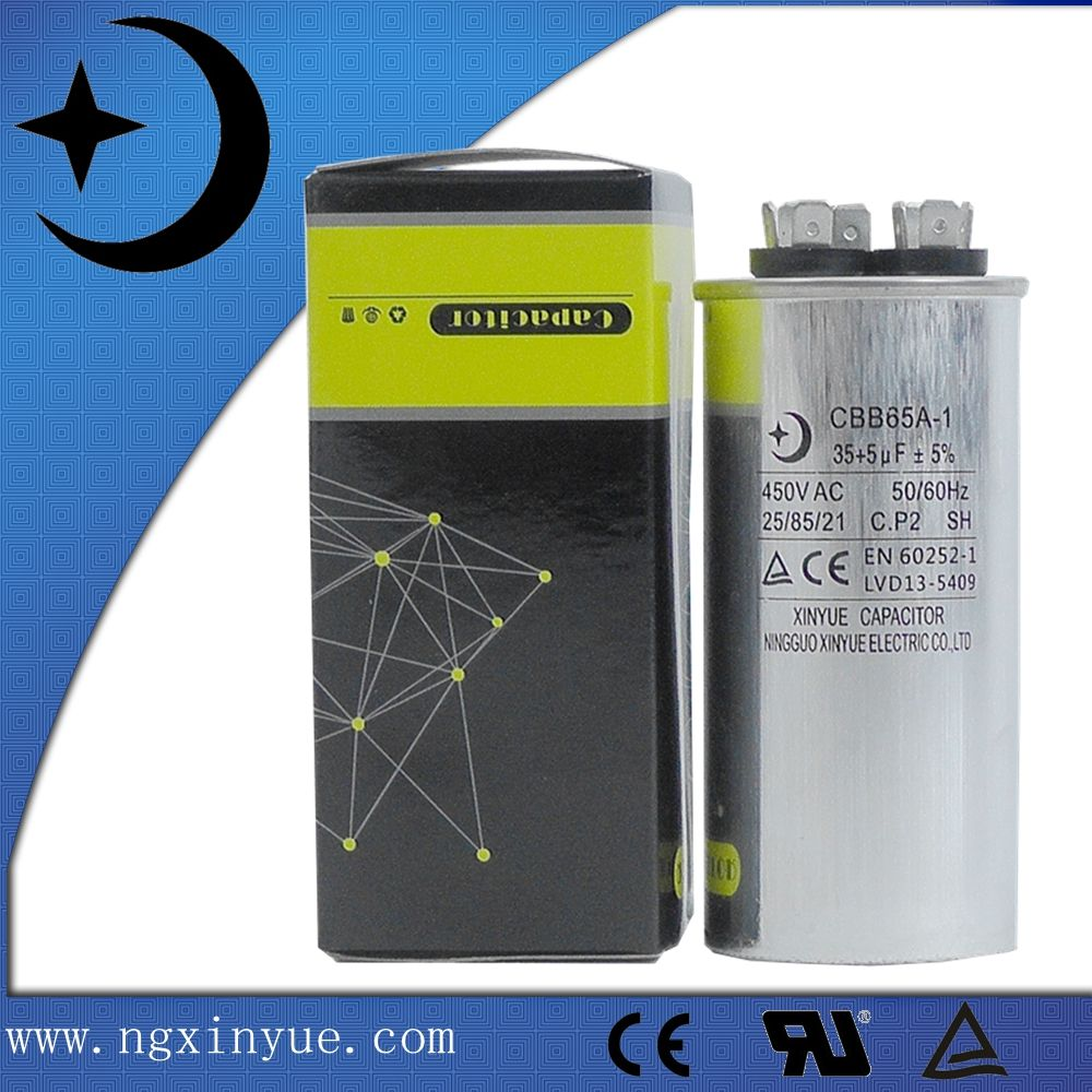 Cbb65a 1 35 5uf Convenience Store Products Capacitor Conditioner