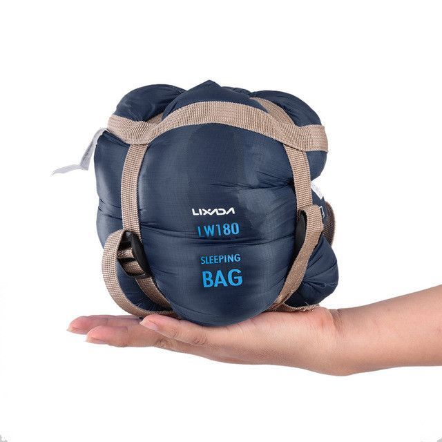 c61f5533ea00 LIXADA Outdoor Envelope Sleeping Bag Mini Ultralight Multifunction Travel  Bag Hiking Camping Sleeping Bags Nylon 190