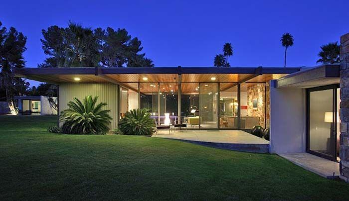 Donald Wexler Mid Century Modern Dinah Shore Palmsprings Home