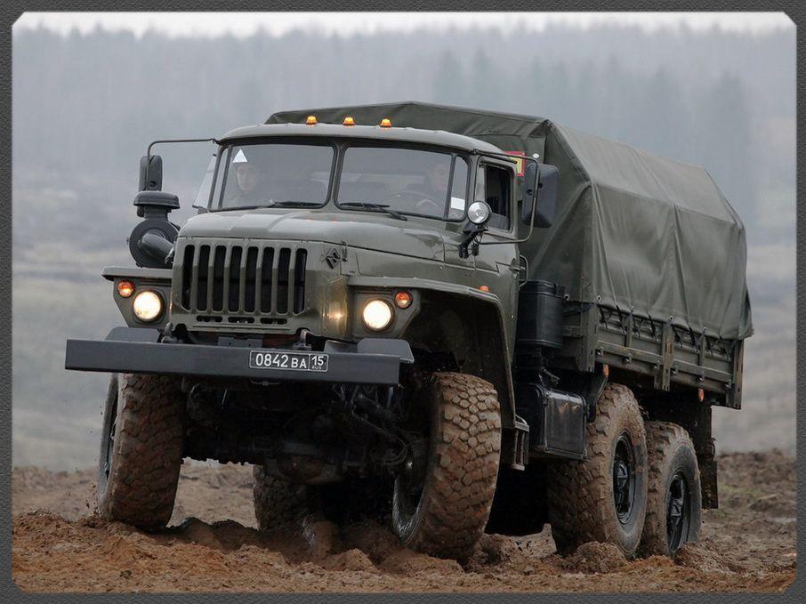 УРАЛ-4320. Фото. Картинки автомобиля. Фотографии советских ...