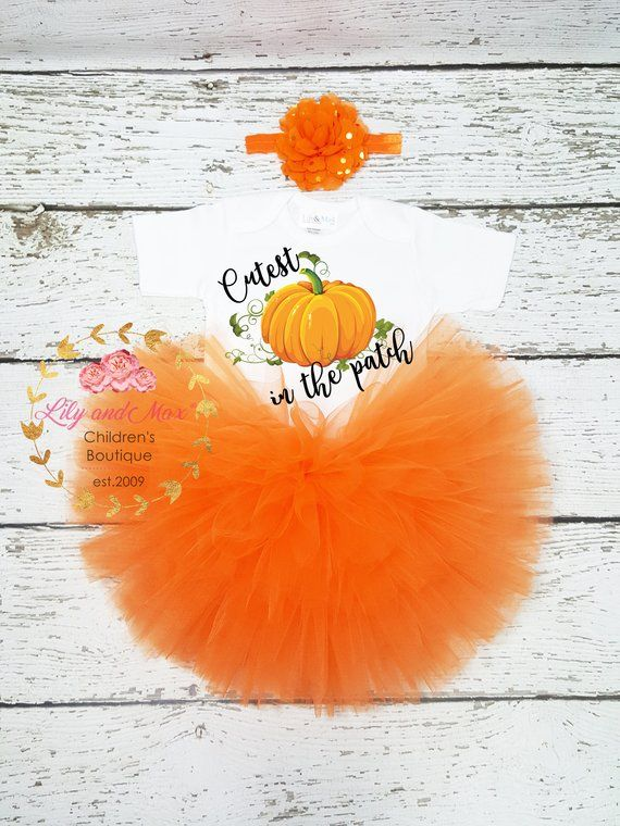 Cutest pumpkin in the patch outfit, pumpkin birthday outfit, pumpkin themed tutu set, Thanksgiving t #pumpkinpatchoutfit