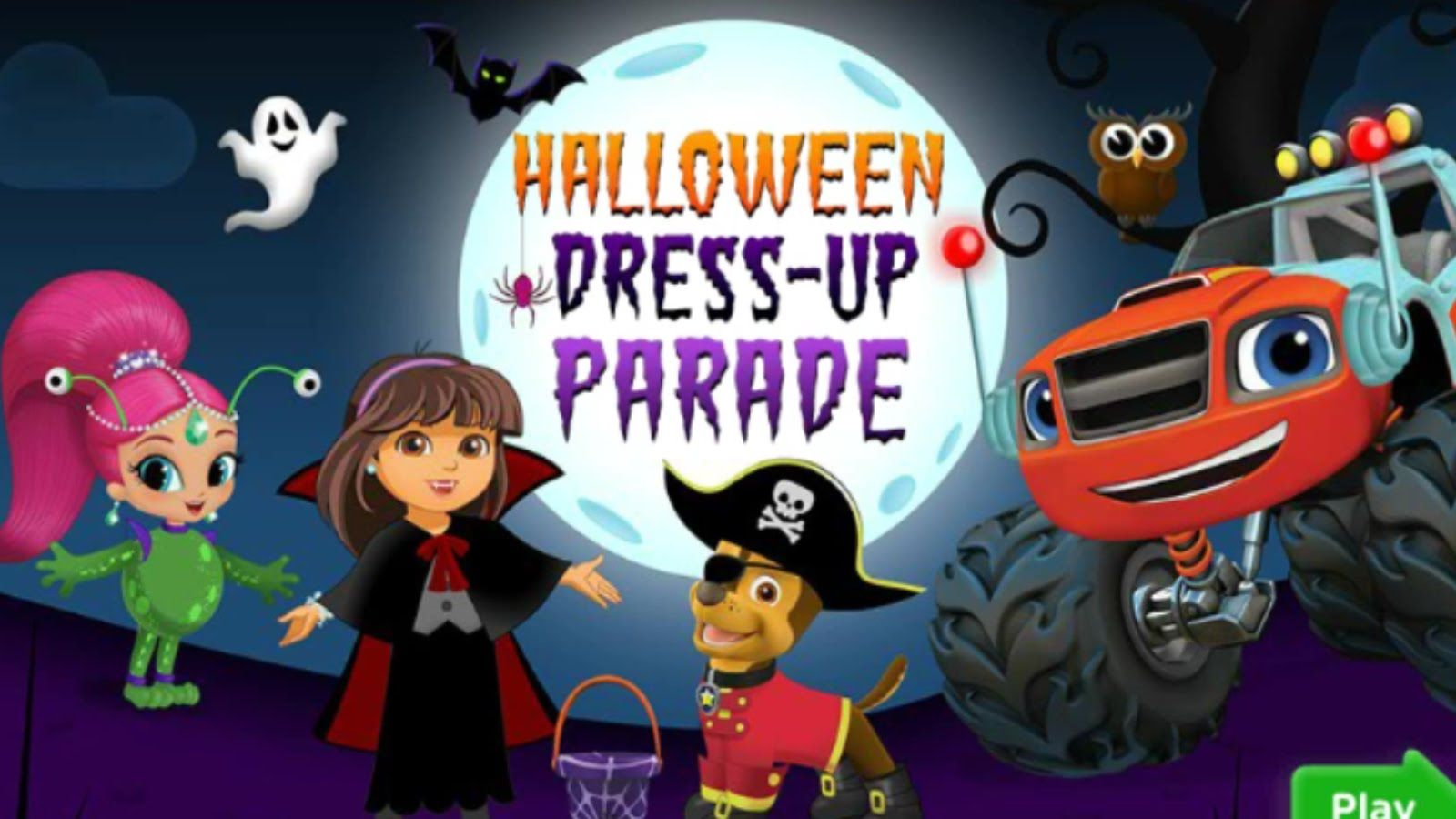 halloween dress up parade - Free Halloween Dress Up Games