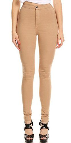 9badcf47ef3fc Monotiques Women s High Waist Stretchy Skinny Jeans Monot... https   www