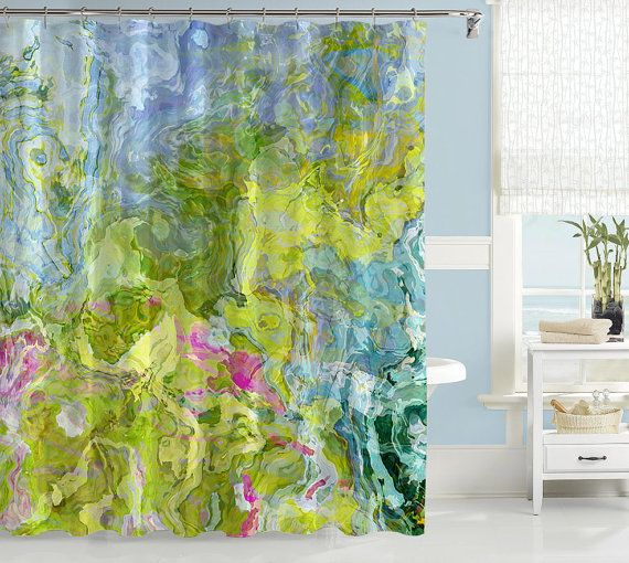 Hey I Found This Really Awesome Etsy Listing At Https Www Etsy Com Listing 1 Abstract Shower Curtain Contemporary Bathroom Decor Abstract Art Shower Curtain
