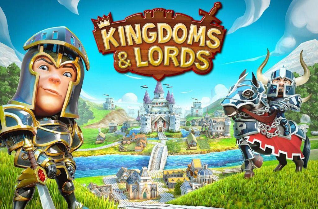 Kingdoms And Lords Mod Apk Plus Data Full Hack Download Clash Jogos