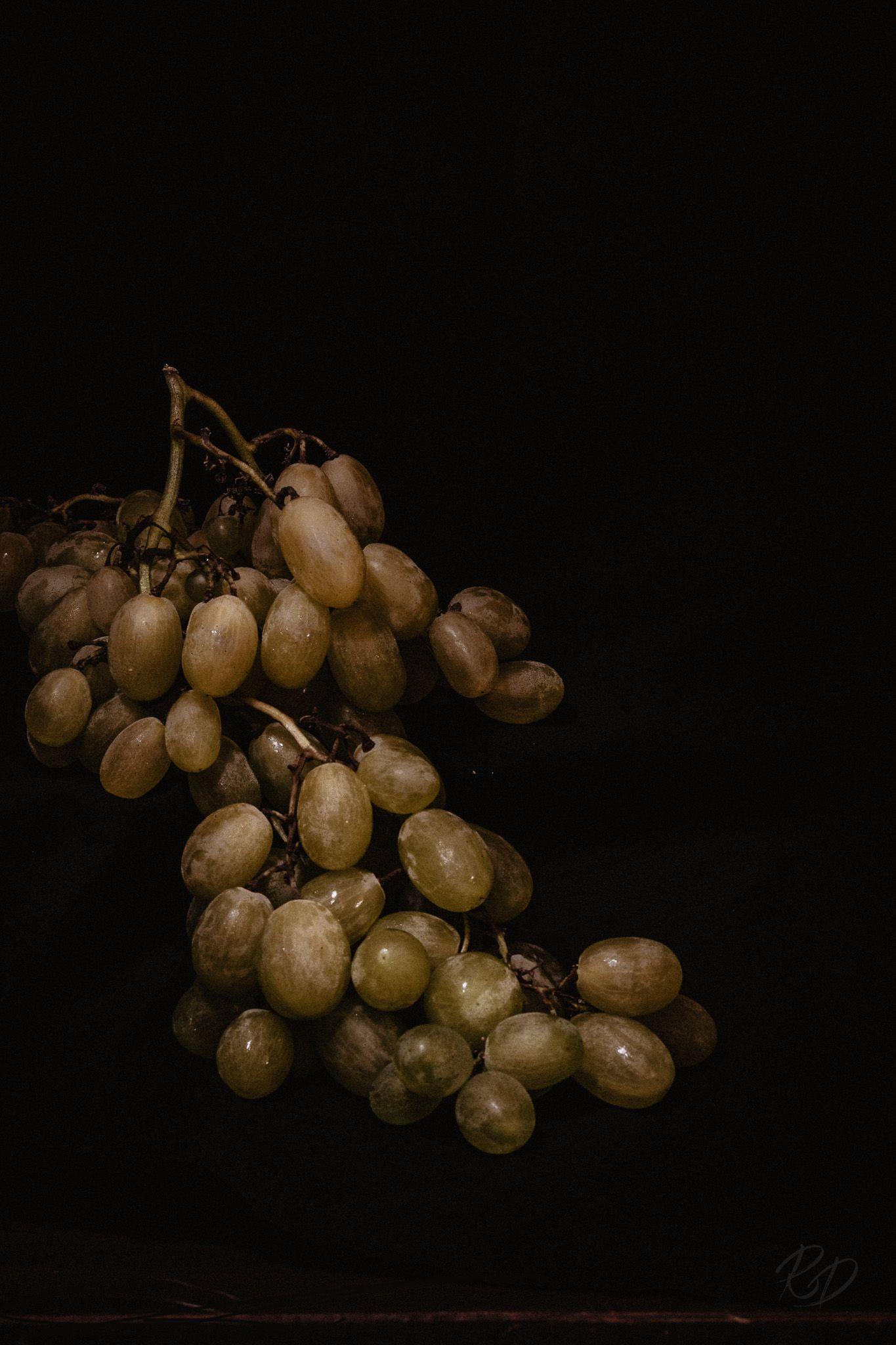 Still Life Food Food Photography Grapes Dark Food Photography
