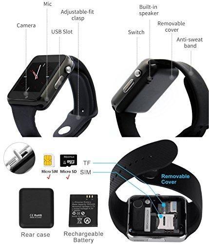 Bluetooth Smart Watch A1 WJPILIS Touch Screen Smart