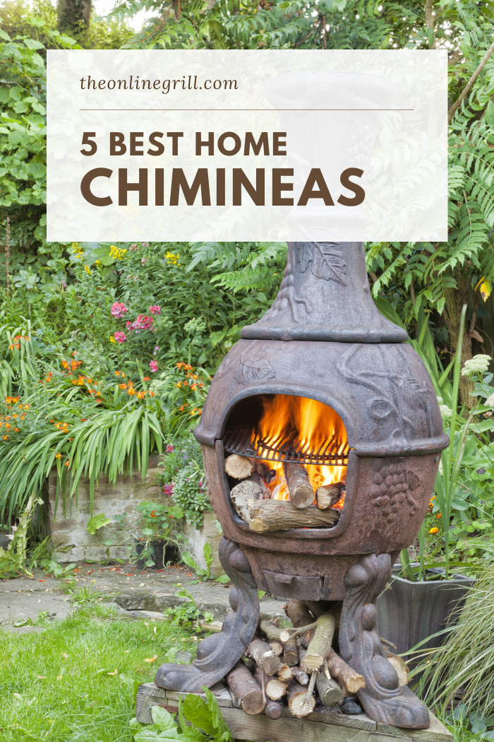 5 Best Cast Aluminum Chimineas Of 2020 The Online Grill In 2020 Fire Pit Fire Pit Backyard Patio Fire Pit