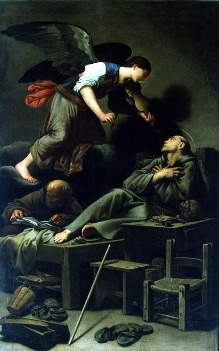The Ecstasy of St. Francis - Saraceni Carlo