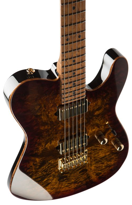 suhr classic t burl maple 2 piece 3 16 top finished in bengal burst basswood 2 piece body. Black Bedroom Furniture Sets. Home Design Ideas