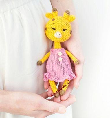 fc56096f22 Amigurumi kislány zsiráf (ingyenes horgolásminta) ❤Mindy - kreatív ötletek  és dekorációk minden napra