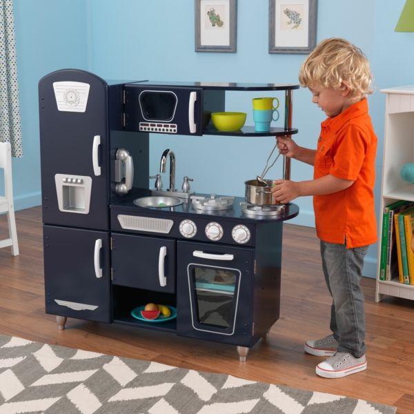 Kinderküchen Design Schwarz Junge Kinderzimmer Jugendzimmer