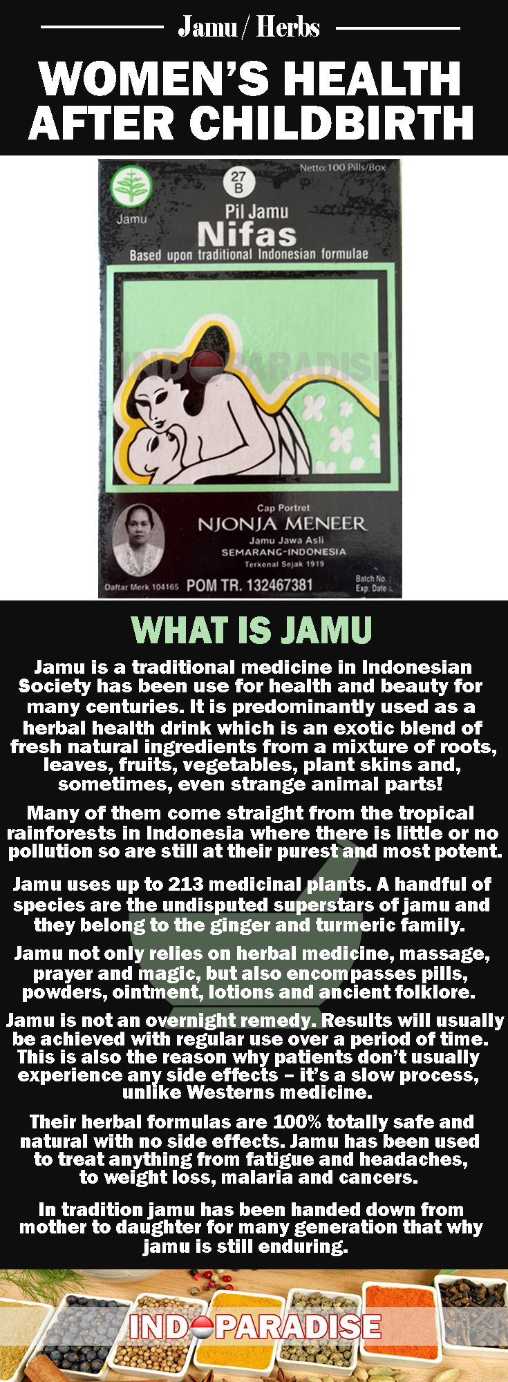It Helps To Maintain Woman Health After Giving Birth, And