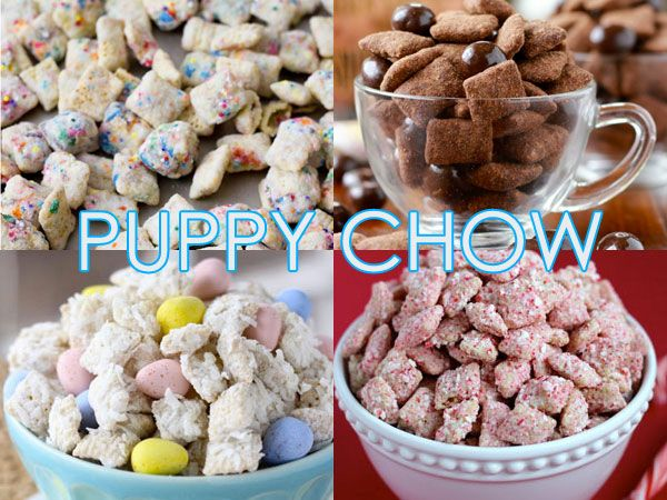 Frisky Eats 17 Recipes For Puppy Chow Muddy Buddies Bette S